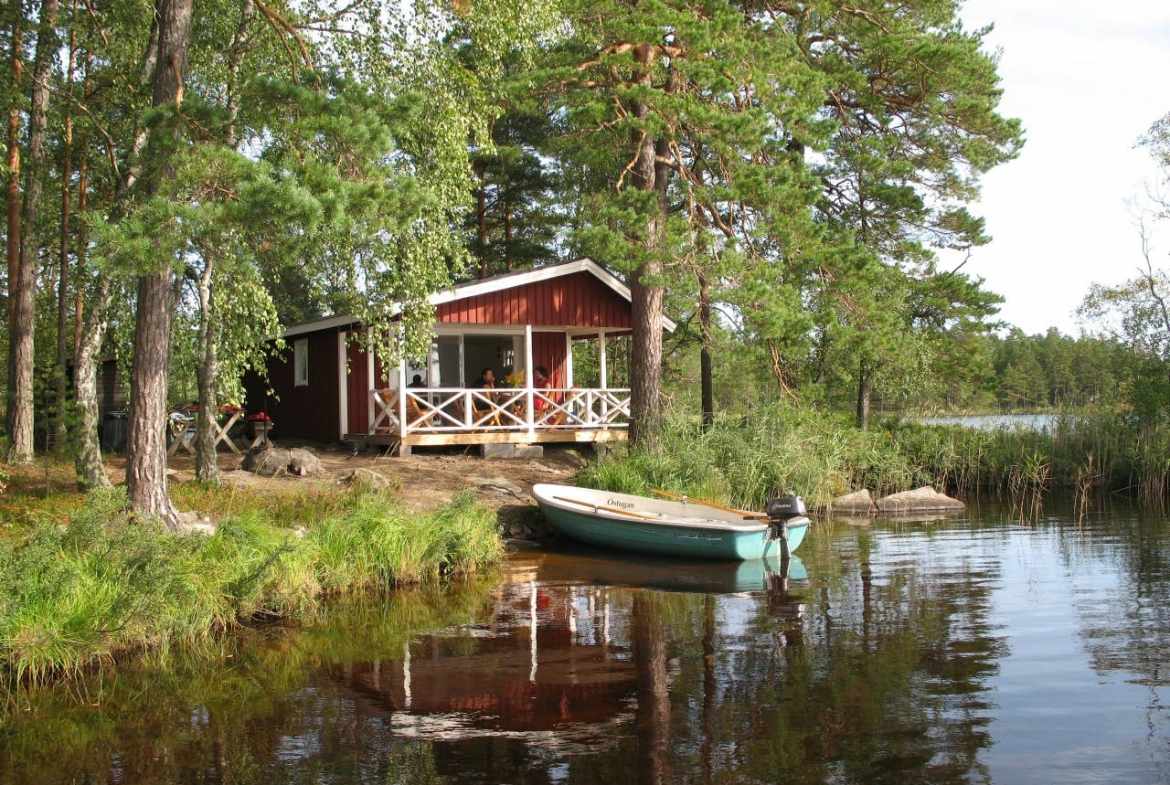 Cottage on private island in Sweden