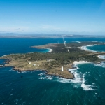 Tasmania private island rental: Swan Island