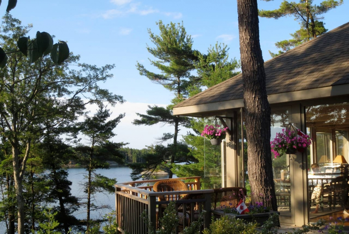 Private island rental, Ontario