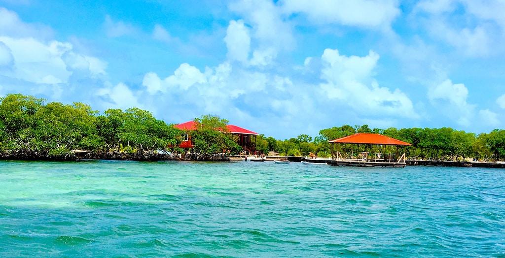 rent a private island Belize