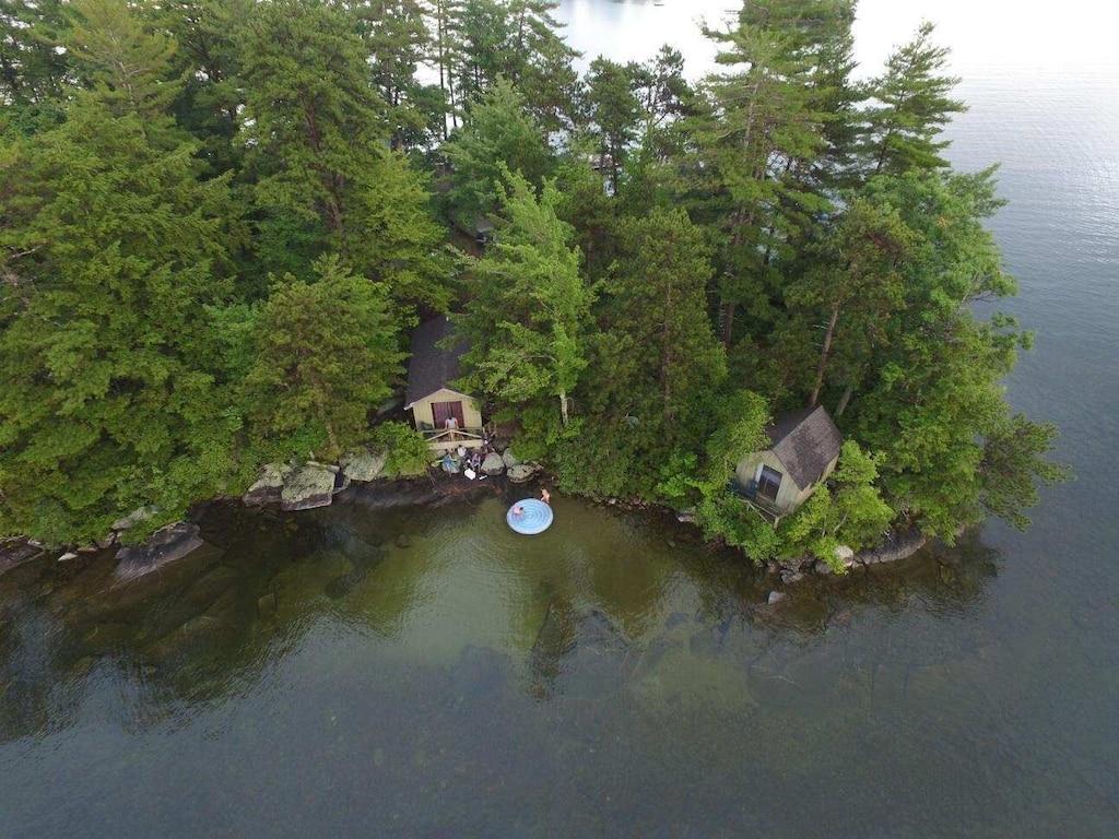 New Hampshire private island rental